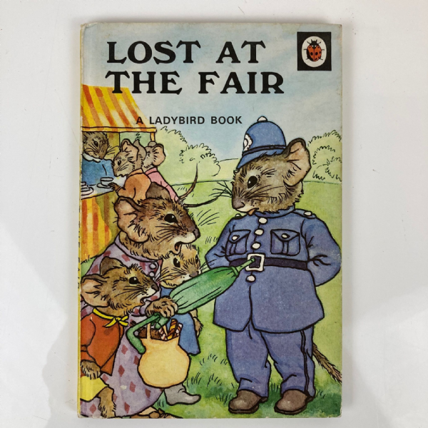Vintage Ladybird 'Lost at the Fair' - Series 401 - Matt Hardback - 24p Net 1970s
